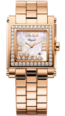 Chopard Happy Sport Square Medium  Women's Watch 275322-5002