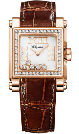Chopard Happy Sport Square Small  Women's Watch 275349-5003