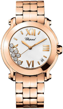 Chopard Happy Sport Medium 36mm  Women's Watch 277472-5001