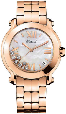 Chopard Happy Sport Medium 36mm  Women's Watch 277472-5002