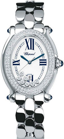 Chopard Happy Sport Oval 7 Floating Diamonds  Women's Watch 278419-2001