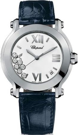 Chopard Happy Sport Medium 36mm  Women's Watch 278475-3001