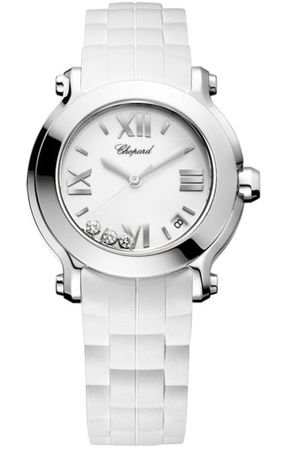 Chopard Happy Sport Medium 36mm  Women's Watch 278475-3016