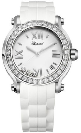 Chopard Happy Sport Medium 36mm  Women's Watch 278475-3018