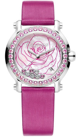Chopard Happy Sport Medium 36mm la-vie-en-rose Women's Watch 278475-3030