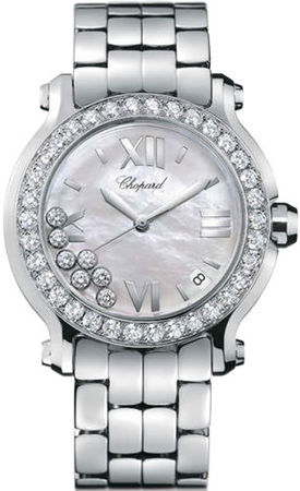 Chopard Happy Sport Medium 36mm  Women's Watch 278477-3009