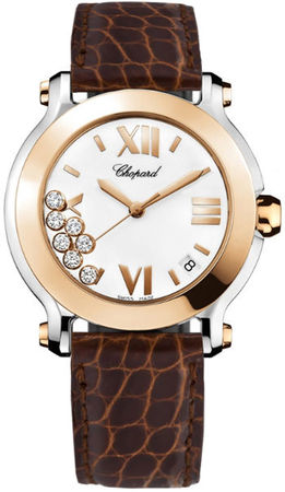 Chopard Happy Sport Medium 36mm  Women's Watch 278492-9001