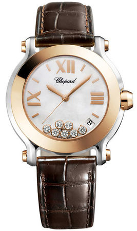 Chopard Happy Sport Medium 36mm  Women's Watch 278492-9004