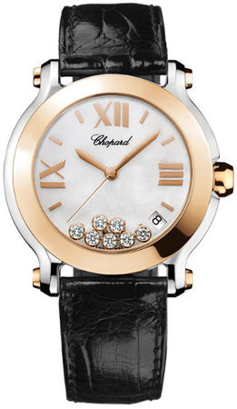 Chopard Happy Sport Medium 36mm  Women's Watch 278492-9004-black