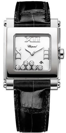 Chopard Happy Sport Square Medium  Women's Watch 278495-3001
