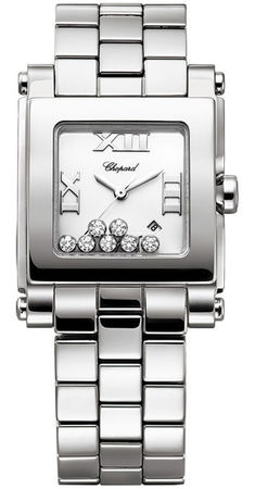 Chopard Happy Sport Square Medium  Women's Watch 278496-3001