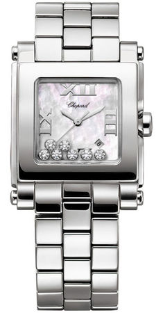Chopard Happy Sport Square Medium  Women's Watch 278496-3002