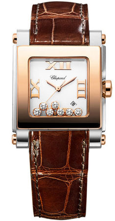 Chopard Happy Sport Square Medium  Women's Watch 278497-9001