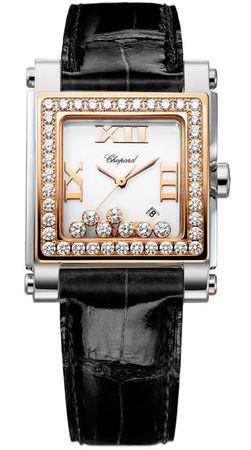 Chopard Happy Sport Square Medium  Women's Watch 278497-9002