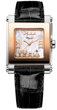 Chopard Happy Sport Square Medium  Women's Watch 278497-9003