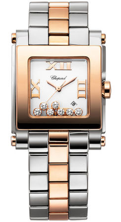 Chopard Happy Sport Square Medium  Women's Watch 278498-9001