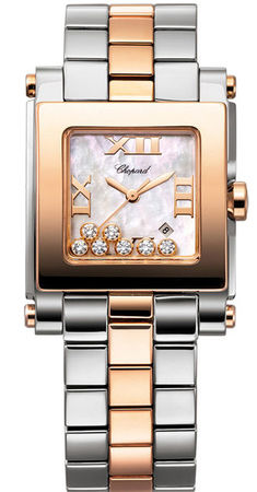 Chopard Happy Sport Square Medium  Women's Watch 278498-9003