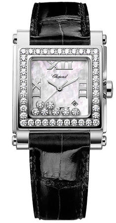 Chopard Happy Sport Square Medium  Women's Watch 278504-2001