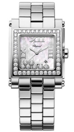 Chopard Happy Sport Square Medium  Women's Watch 278505-2001