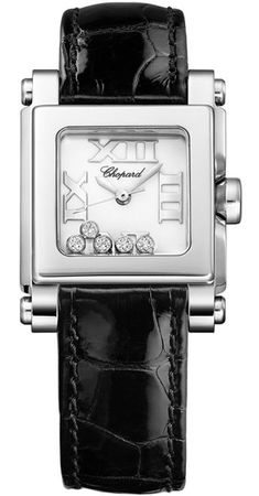 Chopard Happy Sport Square Small  Women's Watch 278516-3001