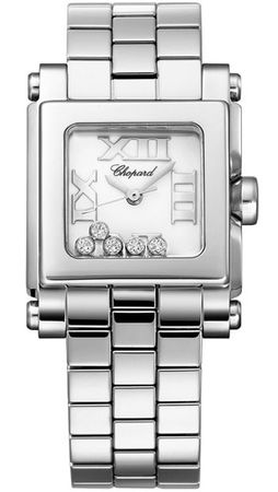Chopard Happy Sport Square Small  Women's Watch 278516-3002