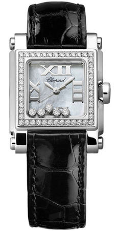 Chopard Happy Sport Square Small  Women's Watch 278516-3003