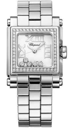 Chopard Happy Sport Square Small  Women's Watch 278516-3004