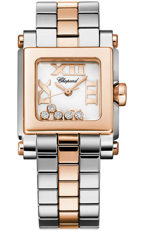 Chopard Happy Sport Square Small  Women's Watch 278516-6002