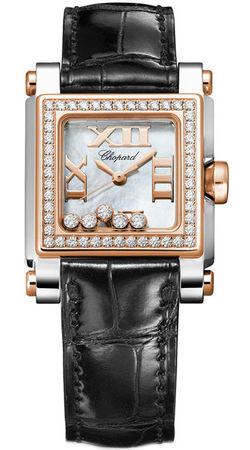 Chopard Happy Sport Square Small  Women's Watch 278516-6003