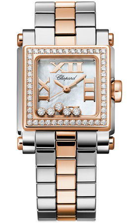 Chopard Happy Sport Square Small  Women's Watch 278516-6004