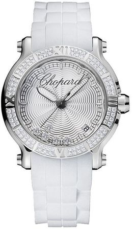 Chopard Happy Sport Round 36mm  Women's Watch 278551-3003