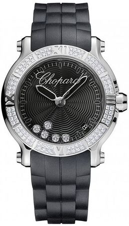 Chopard Happy Sport Round 36mm  Women's Watch 278551-3004
