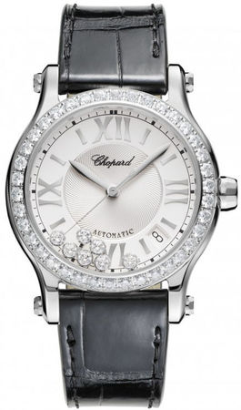 Chopard Happy Sport Medium Automatic 36mm  Women's Watch 278559-3003