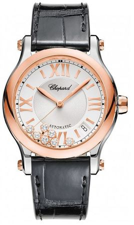 Chopard Happy Sport Medium Automatic 36mm  Women's Watch 278559-6001