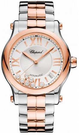 Chopard Happy Sport Medium Automatic 36mm  Women's Watch 278559-6002