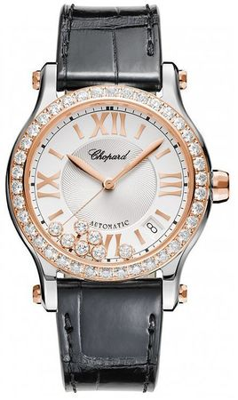 Chopard Happy Sport Medium Automatic 36mm  Women's Watch 278559-6003
