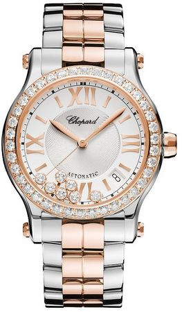 Chopard Happy Sport Medium Automatic 36mm  Women's Watch 278559-6004