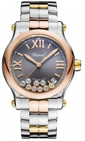 Chopard Happy Sport Medium Automatic 36mm  Women's Watch 278559-9001