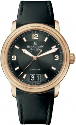 Blancpain Leman Automatic  Men's Watch 2850B-3630A-64B