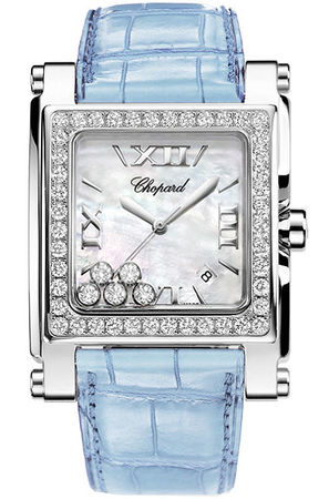 Chopard Happy Sport Square XL  Women's Watch 288448-2001-blue