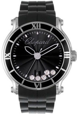 Chopard Happy Sport Round 42mm  Women's Watch 288525-3005