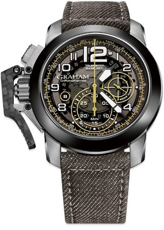 Graham Chronofighter Oversize Target Men's Watch 2CCAC.B16A.T34S