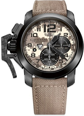 Graham Chronofighter Black Arrow Digi Camo Beige Camouflage Men's Watch 2CCAU.E05A