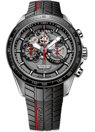 Graham Silverstone RS Skeleton Limited Edition Men's Watch 2STAC1.B01A.K89F
