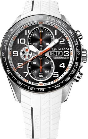 Graham Silverstone RS Racing White and Black Men's Watch 2STEA.B12A.K108F