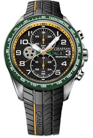 Graham Silverstone RS Racing Yellow and Green Men's Watch 2STEA.B17A.K124F