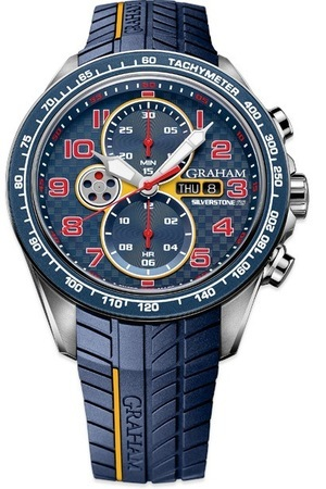Graham Silverstone RS Racing Blue, Yellow And Red Men's Watch 2STEA.U01A.K106F