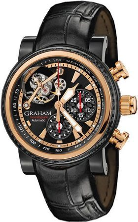Graham Tourbillograph  Rose Gold Men's Watch 2TWAO.B01A