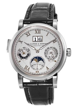 A. Lange & Sohne Langematik  Perpetual 38.5MM Men's Watch 310.025