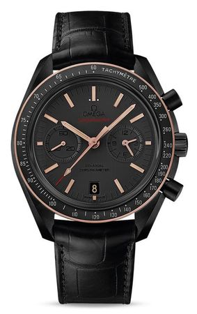 "Omega Speedmaster Moonwatch Co-Axial Chronograph ""Dark Side of the Moon Sedna Black"" Men's Watch 311.63.44.51.06.001"